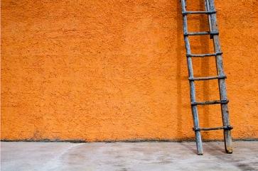 ladder-against-wall